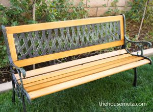 Best Wood For Garden Bench Slats